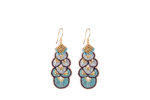 Alis turquoise earrings