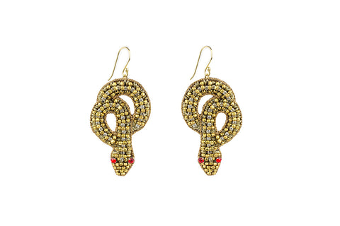 Soli gold earrings