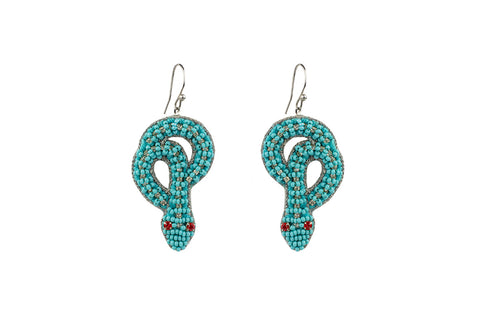 earrings, turquoise, mariana ferreiro.