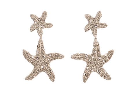twinstar earrings