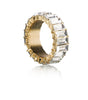 THICK CLEAR ETERNITY BAGUETTE BAND