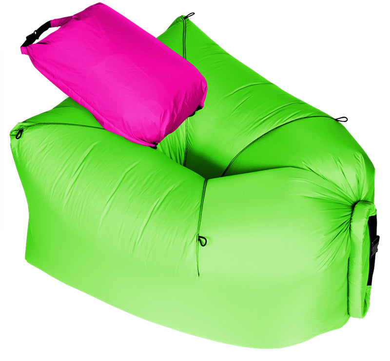 First Air Chair Camping Inflatable Air Chair Lay Bag Leisure Hang Out Everyfridayisblack