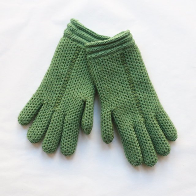 Vintage 1940's Gloves vintage 1940's green children's gloves vintage 1940s 1940's kidswear original 1940's dead stock knitted gloves