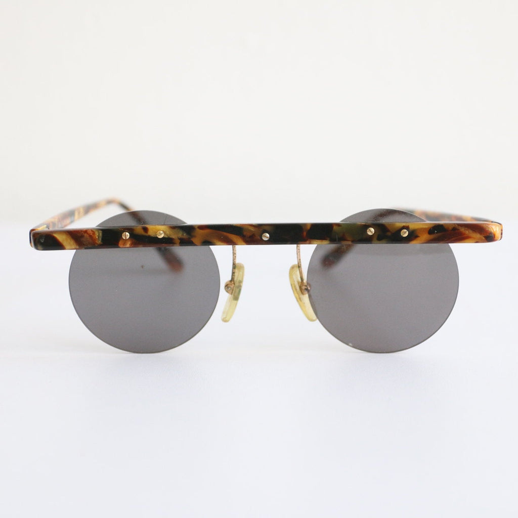 Vintage 1940's sunglasses original 1940's sunglasses vintage german sunglasses original forties fashion 1940s accessories round sun glasses