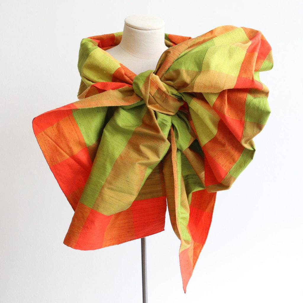 Vintage 1950's shawl vintage 1950's silk shawl 1950's brightly coloured shawl evening wrap 1950's silk wrap shantung silk shoulder wrap