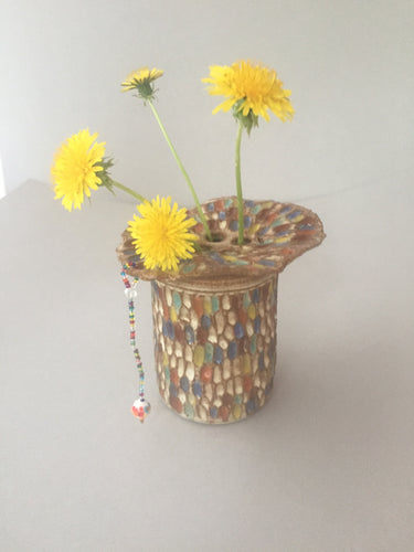 Indian Corn Flower Vase