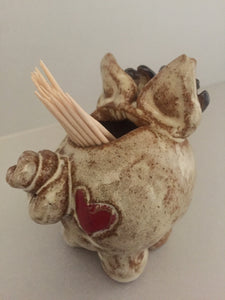 Piggy Toothpick Holder