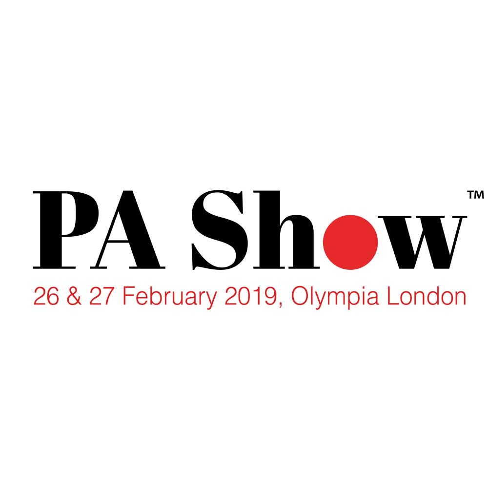 Join GingerWhite at the PA Show 26-27 February 2019
