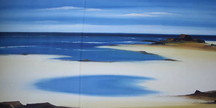 Seasscapes - original paintings for limited edition prints available to hire to offices