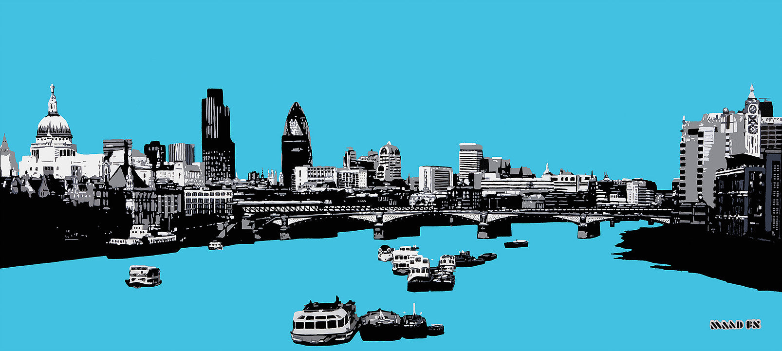 Electric London - Across the Thames (#EL_09)