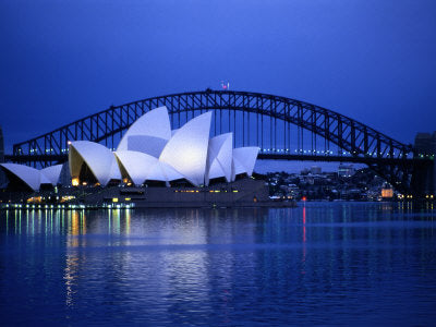 Big City, Bright Lights - Harbor and Sydney Opera House (#BCBL_14)