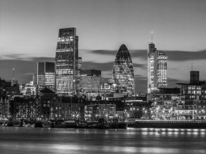 Black'n'White - Thames Skyline (#BWLONDON_01)