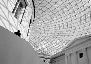 Black'n'White - The Great Court, British Museum (#BWLONDON_04)