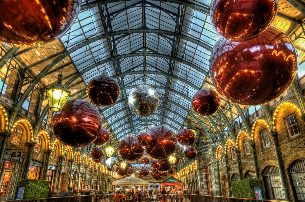 Architectural London - Covent Garden Christmas market (#ARCH_LONDON_01)