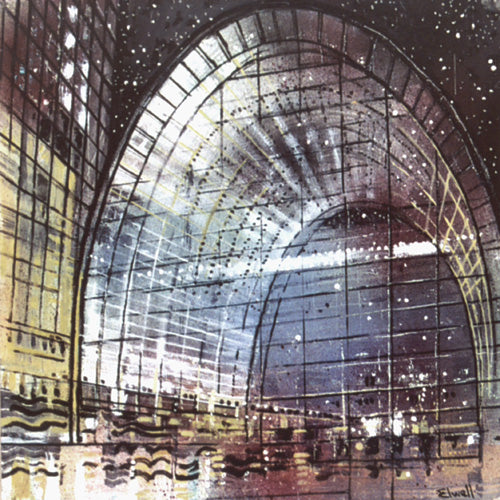 Urban Reflections - Glass Arch (#ELWELL_B_1001)
