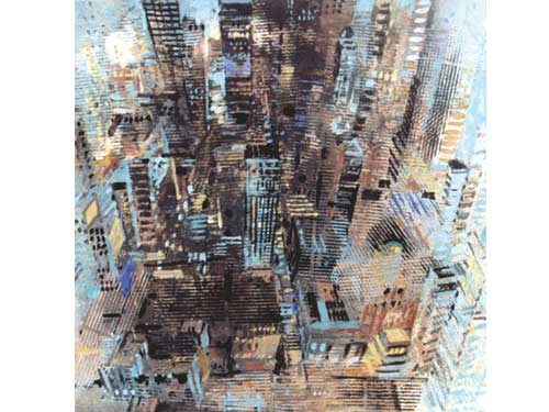 Urban Reflections - Manhattan 1 (#ELWELL_B_1008)