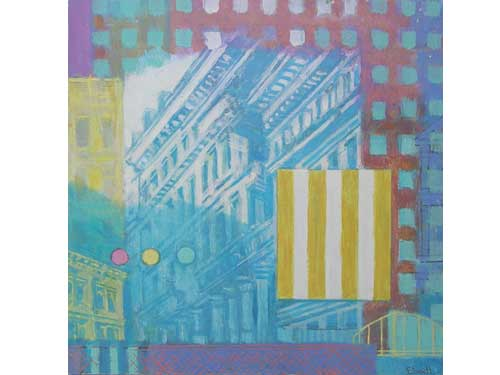 Urban Reflections - Blue Buildings (#ELWELL_B_2001)