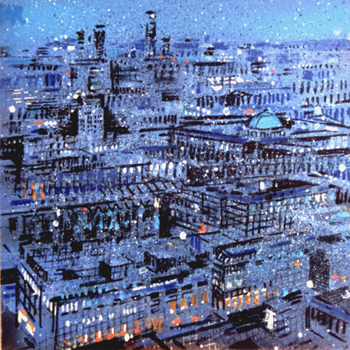 Urban Reflections - Blue London (#ELWELL_B_2004)
