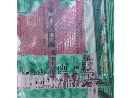 Urban Reflections - Tower (#ELWELL_B_2006)