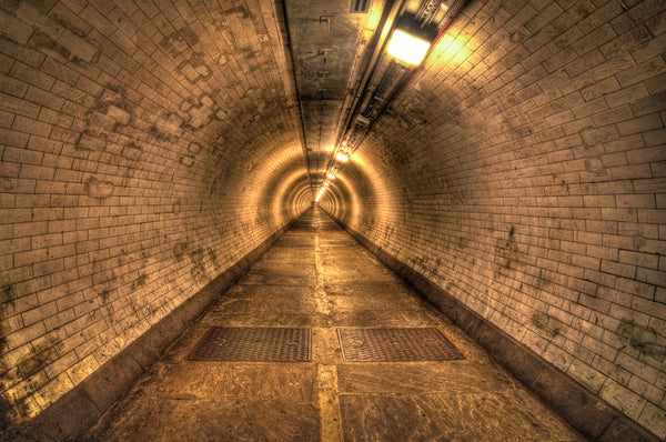 Architectural London - Greenwich foot tunnel (#ARCH_LONDON_02)