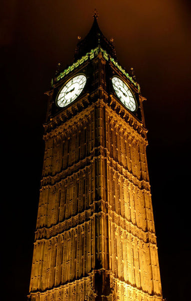 London Town - Big Ben at night (#HOLLAND_A_1013)