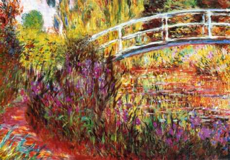 Impressionism Movement - The Japanese Bridge (#IMPRESS_02)