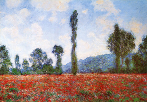 Impressionism Movement - Field of Poppies (#IMPRESS_03)