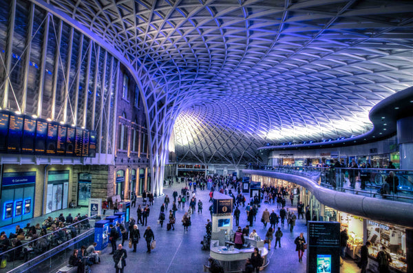Architectural London - Kings Cross ceiling (#ARCH_LONDON_03)