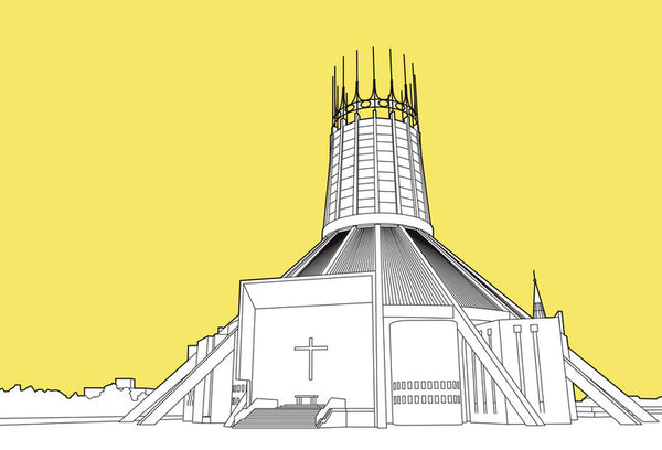 British Architectural Beauties - Metropolitan Cathedral of Christ the King, Liverpool (#BAB_19)
