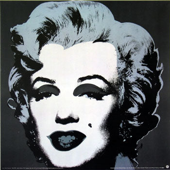 Pop Art Movement - Marilyn Monroe, 1967 (black) (#PAM_03)