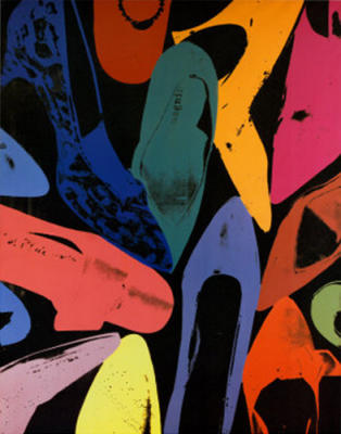 Pop Art Movement - Diamond Dust Shoes, 1980 (#PAM_05)