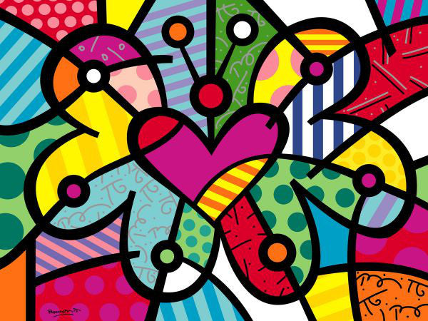 Pop Art Movement - Heart Butterfly (#PAM_09)