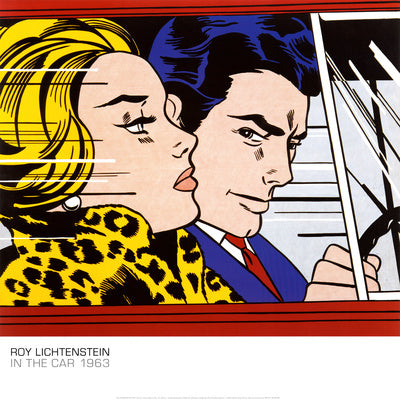 Pop Art Movement - In the Car, c.1963 (#PAM_10)