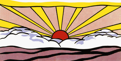 Pop Art Movement - Sunrise, c.1965 (#PAM_11)