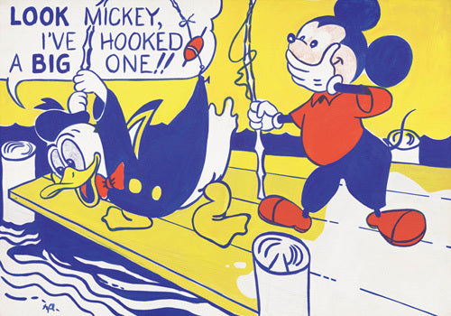 Pop Art Movement - Look Mickey, 1961 (#PAM_13)