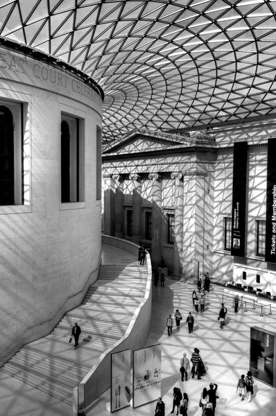 Architectural London - Shadows in the British Museum (#ARCH_LONDON_11)