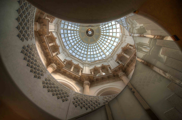 Architectural London - Tate Britain staircase (#ARCH_LONDON_05)
