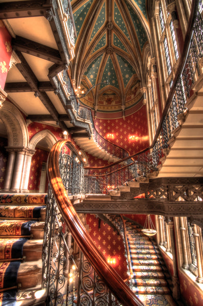 Architectural London - The Grand Staircase, Renaissance Hotel (#ARCH_LONDON_12)