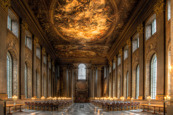 Architectural London - The Painted Hall, Greenwich (#ARCH_LONDON_08)