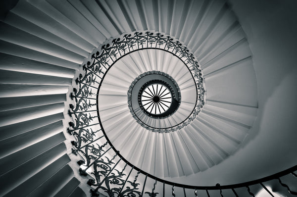 Architectural London - The Tulip Staircase, Greenwich (#ARCH_LONDON_09)