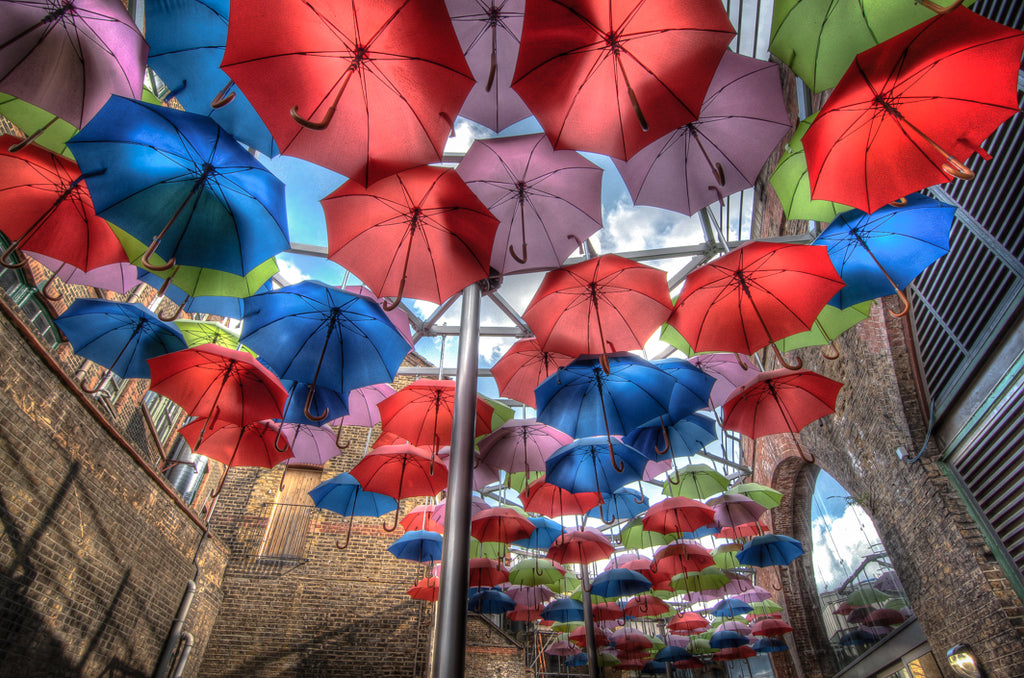 Architectural London - Umbrella Art, Borough Market (#ARCH_LONDON_10)