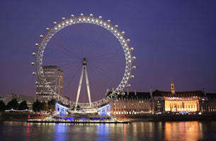 London Town - London Eye at Dusk (#WATT_L_1013)