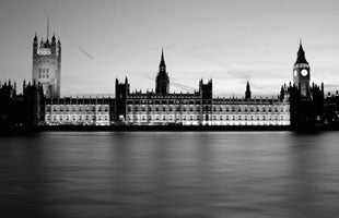 Black'n'White - Houses of Parliament 2 (#WATT_L_1021)