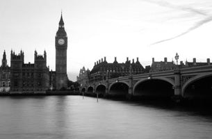 Black'n'White - Summer Dusk Westminster (#WATT_L_1027)