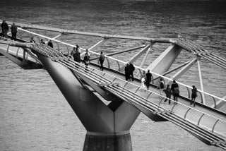 Black'n'White - The Millenium Bridge II (#WATT_L_1036)