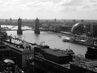 Black'n'White - View from Monument (#WATT_L_1038)