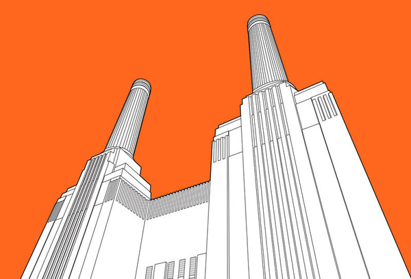 British Architectural Beauties - Battersea Power Station, London (#BAB_02)