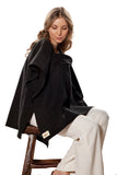 Classic Nursing Cover Black Square