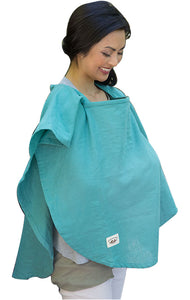 Organic Nursing Cover Emerald Oval