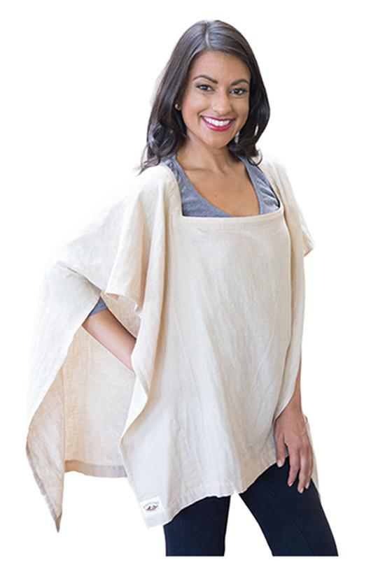 Organic Nursing Cover Beige Square